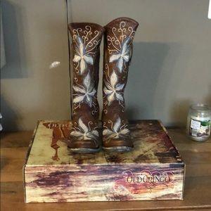 Never worn old Gringo Gemmarazz size 8 cowboy boot